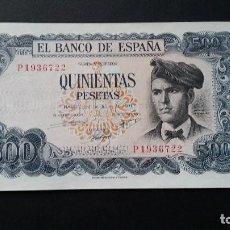Historical Medals - ESPAÑA - BILLETE- 500 PESETAS 1971 ( SERIE P ) SC UNC ( T050 ) - 156879166