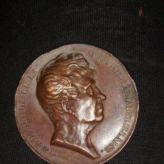 Medallas históricas: MEDALLA CONMEMORATIVA CLAUDE JOSEPH ROUGET DE LISLE FRANCIA 1833. Lote 157123834