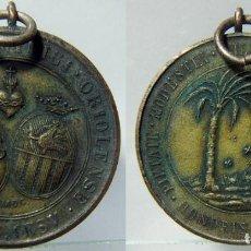 Medallas históricas: COLLEGIUM S DOMINICI ORIOLENCE MEDALLA AL MÉRITO ACADÉMICO DEL COLEGIO SANTO DOMINGO. Lote 157961926