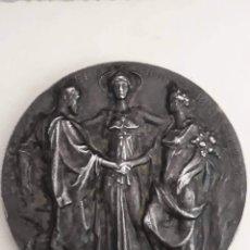 Medallas históricas: MEDALLA EXPOSICIÓN INTERNACIONAL DE BRUSELAS 1897 BELGICA. Lote 158381994