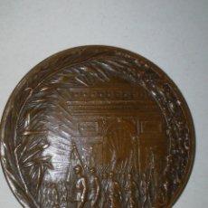 Medallas históricas: MÉDAILLE EN BRONZE - LA VICTOIRE DU DROIT 1919 - WWI. Lote 158561301