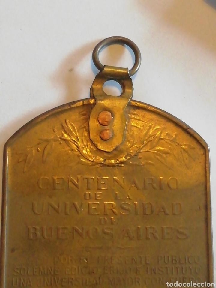 Medallas históricas: MedallasTítulo:Universidad de Buenos Aires. CentenarioEscultor:Cárcova. - Foto 6 - 158701593