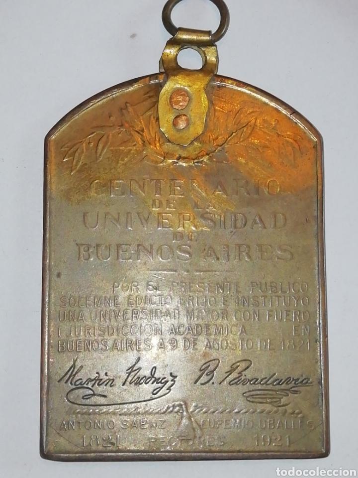 Medallas históricas: MedallasTítulo:Universidad de Buenos Aires. CentenarioEscultor:Cárcova. - Foto 7 - 158701593