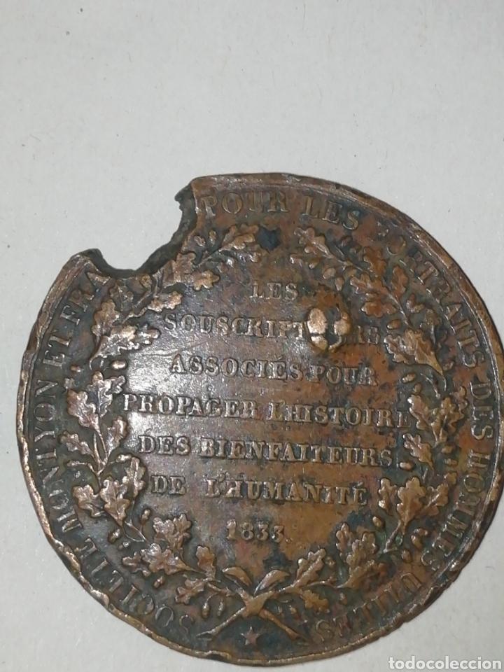 Medallas históricas: Franklin Monyon Genie de la Bienfaisante faltas - Foto 2 - 158708417