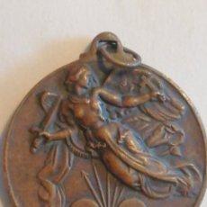 Medallas históricas: MAGNÍFICA MEDALLA DEL ALZAMIENTO 1936 Y VICTORIA 1939. TIPO COBRE. GUERRA CIVIL  COBRE 38MM X 34M. Lote 158718978