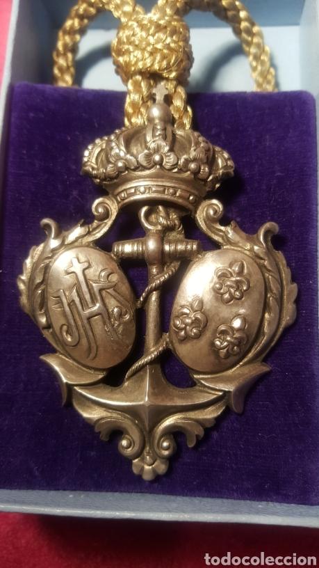 ANTIGUA MEDALLA DE COFRADÍA (Numismática - Medallería - Histórica)
