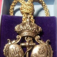 Medalhas históricas: ANTIGUA MEDALLA DE COFRADÍA. Lote 158970824