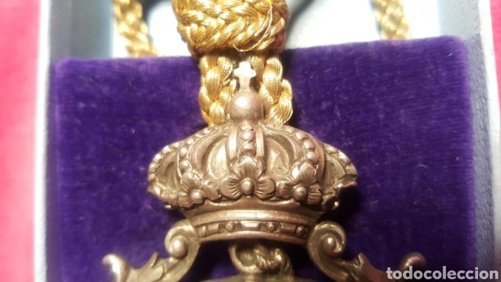 Medallas históricas: ANTIGUA MEDALLA DE COFRADÍA - Foto 2 - 158970824