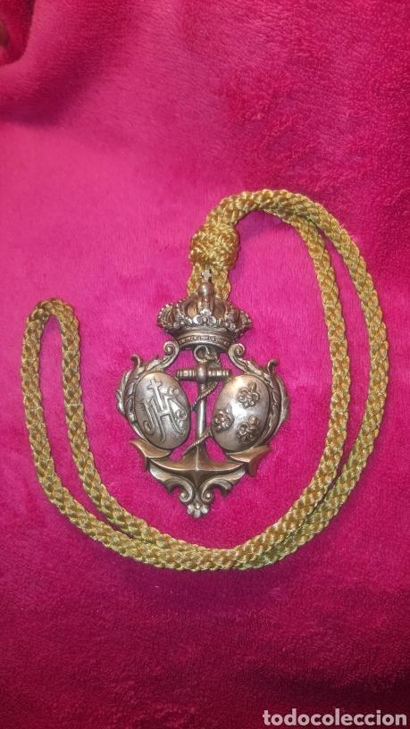 Medallas históricas: ANTIGUA MEDALLA DE COFRADÍA - Foto 6 - 158970824