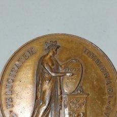 Medallas históricas: V09_1598-PRIMER IMPERIO MÉDAILLE BR 48, LA VILLE DE LYON EN L'HONNEUR DU MARIAGE DE NAPOLÉON IER E. Lote 159101090