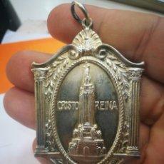 Medallas históricas: MEDALLA BILBAO RECUERDO AL MONUMENTO DEL S.CORAZON 1926 MUY BUEN ESTADO PESA 44.3 GRAMOS. Lote 159533110