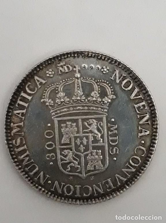 NOVENA CONVENCION NUMISMATICA PHILIP V D G HISP ET IND REX 1975 *PLATA - S/C* (Numismática - Medallería - Histórica)