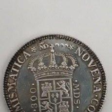 Medallas históricas: NOVENA CONVENCION NUMISMATICA PHILIP V D G HISP ET IND REX 1975 *PLATA - S/C*. Lote 159765318