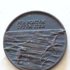 Medallas históricas: MEDALLA. COMPAÑÍA TELEFÓNICA NACIONAL DE ESPAÑA. 1968. PER PONTUM TUTUM ITER.. Lote 159765458