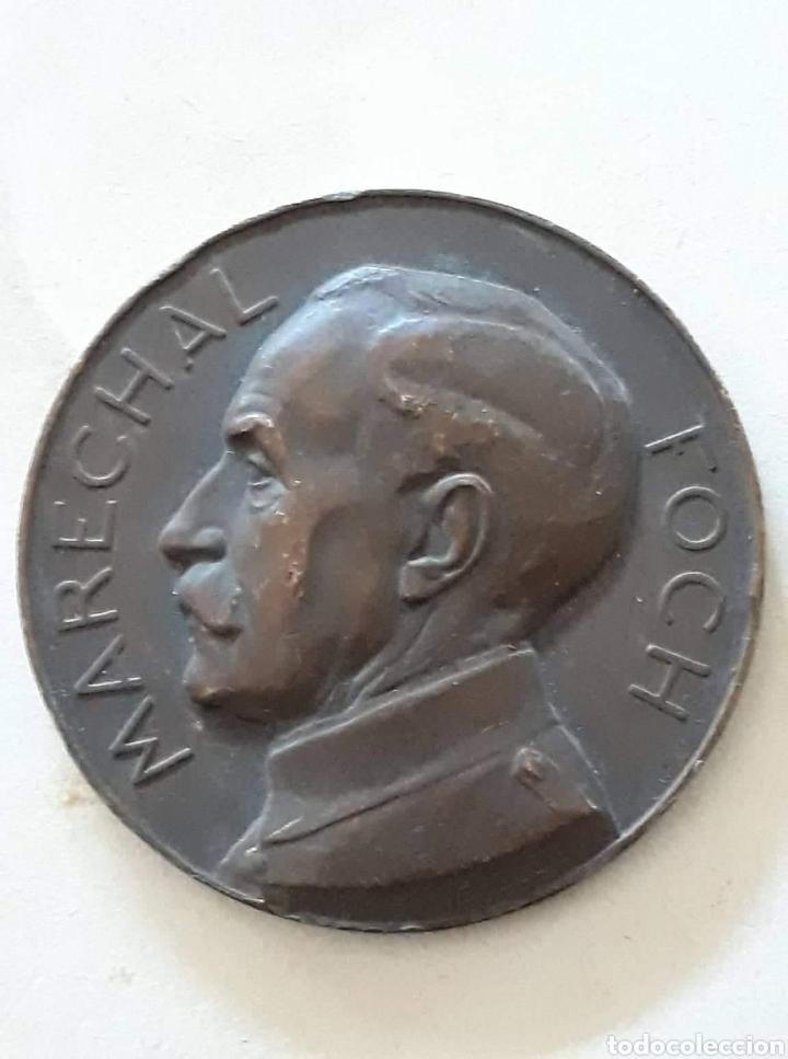 VOICI UNE MÉDAILLE COMMÉMORATIVE DES OFFICIERS DE RÉSERVE DE LA 18ÈMERÉGION À BAGNÈRES DE BIGORRE (Numismática - Medallería - Histórica)