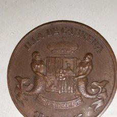 Medallas históricas: (1847-1947) MEDALLA ILLA DE CABRERA MALLORCA 1947.. Lote 159807478