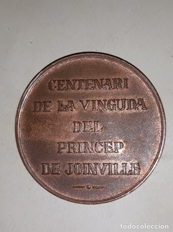 Medallas históricas: (1847-1947) MEDALLA ILLA DE CABRERA MALLORCA 1947. - Foto 2 - 159807478