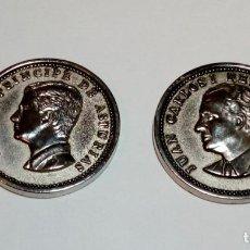 Medallas históricas: MONEDA MEDALLA CONMEMORATIVA - JUAN CARLOS I REY DE ESPAÑA Y FELIPE PRINCIPE DE ASTURIAS. Lote 159959450