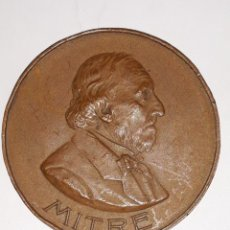Medallas históricas: MEDALLA DEL OCTOGESIMO ANIVERSARIO DEL NACIMIENTO DE BARTOLOME MITRE 29 JUNIO 1901. Lote 160369538