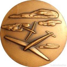 Medallas históricas: ESPAÑA. MEDALLA LX ANIVERSARIO LINEA LATECOERE 1918-1978. BARCELONA. Lote 160456934