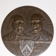 Medallas históricas: MEDALLA FONDATION DUCROT-PAUFFERT 1890 POUR RECOMPENSER LE MERITE. Lote 160941638