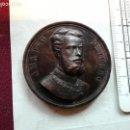 Medallas históricas: AMADEO I DE SABOYA. MEDALLA DE SU PROCLAMACION COMO REY DE ESPAÑA 1870. Lote 161161642