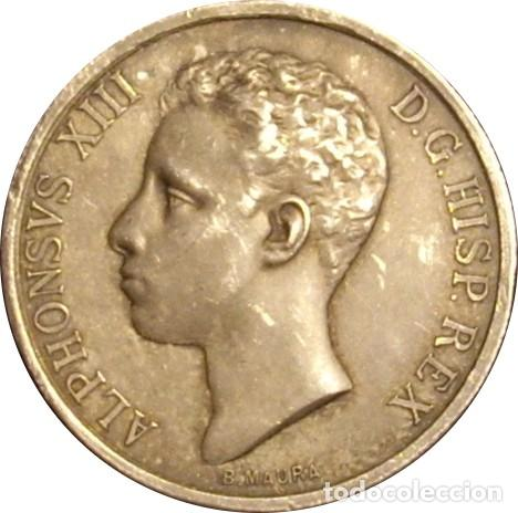 ESPAÑA. MEDALLA CONMEMORATIVA MAYORÍA DE EDAD Y CORONACIÓN DE ALFONSO XIII. 1.902. PLATA (Numismática - Medallería - Histórica)