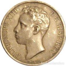Medalhas históricas: ESPAÑA. MEDALLA CONMEMORATIVA MAYORÍA DE EDAD Y CORONACIÓN DE ALFONSO XIII. 1.902. PLATA. Lote 161437982
