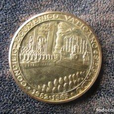 Medallas históricas: MEDALLA MONEDA ORO PABLO VI PONTIFICE MAXIMO CONCILIO ECUMENICO VATICANO II 7,2 GRAMOS. Lote 161528182