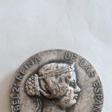 Medallas históricas: ISABEL II. MEDALLA CONMEMORATIVA. 1.963. Lote 162036573
