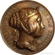 Medaglie storiche: ESPAÑA. ISABEL II. MEDALLA DEL CUERPO DE INGENIEROS DEL EJERCITO. 1.847. Lote 162120746