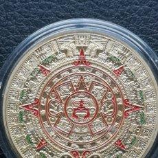 Medallas históricas: MONEDA O MEDALLA AZTECA.. Lote 163523857