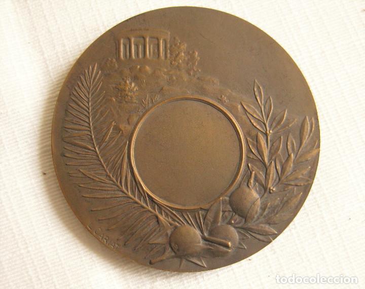 Medallas históricas: MEDALLA FIRMADA EN BRONCE LUCIEN CARIAT - CONMEMORATIVA JUEGOS ATLETICOS JUNIO 1919 - Foto 5 - 164897586