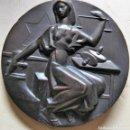 Medallas históricas: ESPAÑA. MEDALLA F.N.M.T. INAUGURACIÓN CASA DE LA MONEDA. 1.964. BRONCE. Lote 165218878