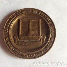 Medallas históricas: MEDALLA CONMEMORATIVA COMPAÑÍA CUBANA DE FIANZAS AÑO 1953. Lote 165261278