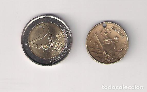 Medallas históricas: MEDALLA DE COBRE DE SANTA ELENA Y SU HIJO. (MD102) - Foto 2 - 165346366