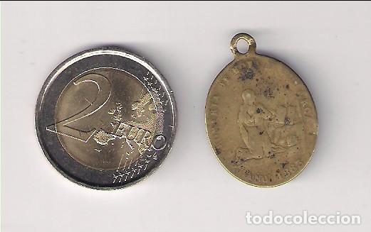 Medallas históricas: MEDALLA 1883 LEYENDA ANVERSO: VIVA MARIA VIVA EL ROSARIO. REVERSO: ROMERIA DE MOYA Y COMARCA (MD103) - Foto 2 - 165347706