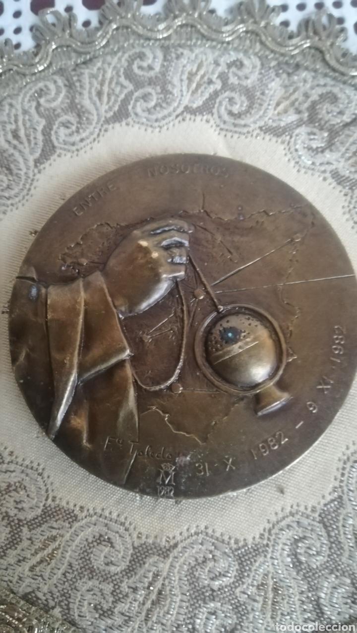 Medallas históricas: Medallon conmemorativo de 1982 - Foto 2 - 165539162
