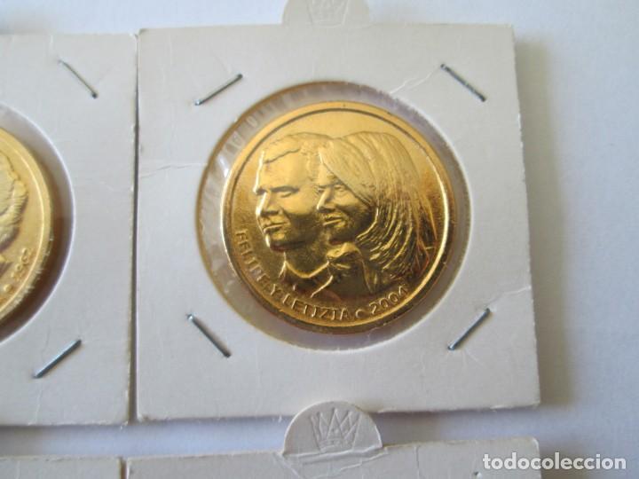 Medallas históricas: LOTE DE 4 MEDALLAS DE BODAS REALES - Foto 3 - 165797498