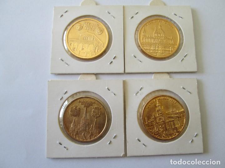 Medallas históricas: LOTE DE 4 MEDALLAS DE BODAS REALES - Foto 6 - 165797498