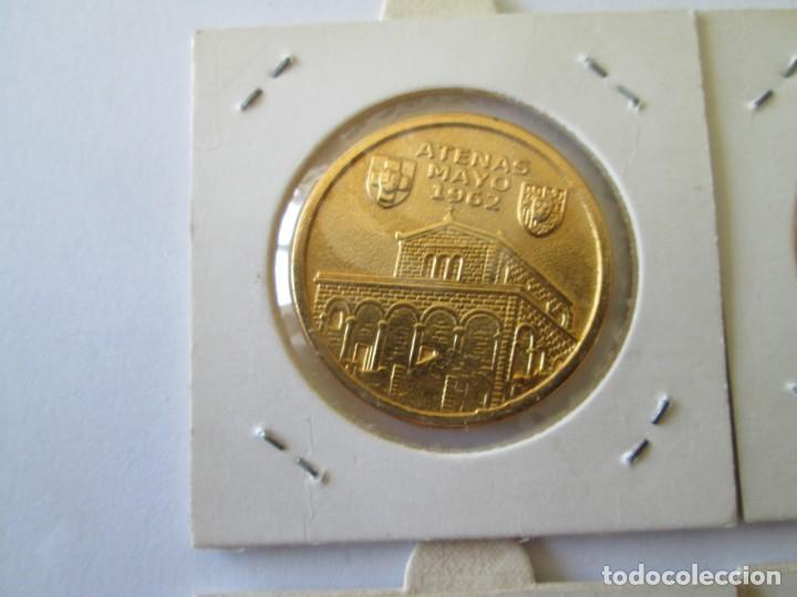 Medallas históricas: LOTE DE 4 MEDALLAS DE BODAS REALES - Foto 8 - 165797498