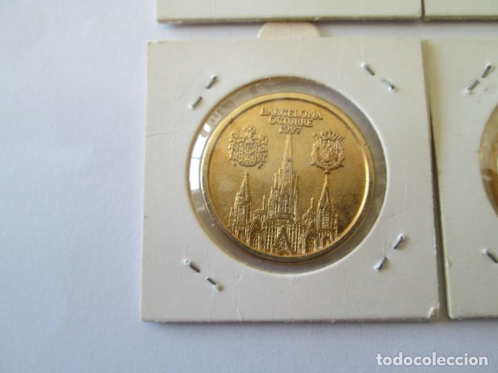 Medallas históricas: LOTE DE 4 MEDALLAS DE BODAS REALES - Foto 9 - 165797498