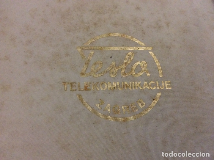 Medallas históricas: Medalla Tesla Telekomunikacije Zagreb con su caja - Foto 4 - 166732310