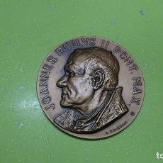 Medallas históricas: MEDALLA JUAN PABLO II VISITA A VENEZUELA 1985. Lote 166919192