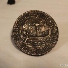 Medallas históricas: MEDALLA DEL CONCEJO DE SAN SEBASTIAN 1352, EN PLATA. Lote 168870848