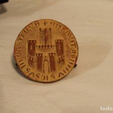 Medallas históricas: MEDALLA DEL CONCEJO DE SAN SEBASTIAN EN TERRACOTA. Lote 168871204