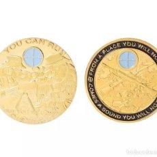 Medallas históricas: MONEDA CONMEMORATIVA FRANCOTIRADOR. Lote 254112100