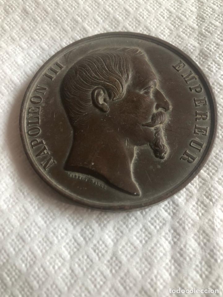 MEDALLA NAPOLEÓN III PARIS (Numismática - Medallería - Histórica)