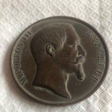 Medallas históricas: MEDALLA NAPOLEÓN III PARIS. Lote 171011069