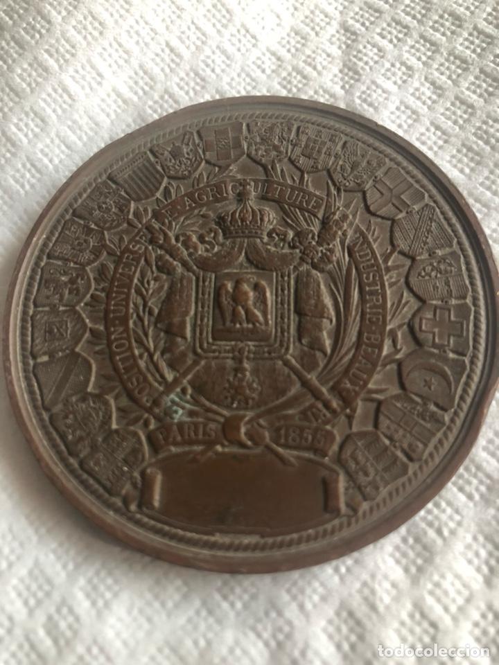 Medallas históricas: Medalla Napoleón III PARIS - Foto 3 - 171011069
